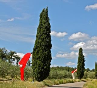 The Chianti Sculpture Park in Pievasciata Hotel