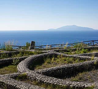 Damecuta: ruderi di villa romana a picco sul mare Hotel