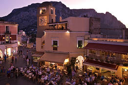 Nightlife on Capri