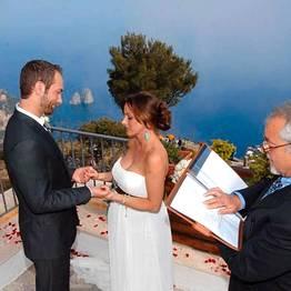 Casamento em Capri