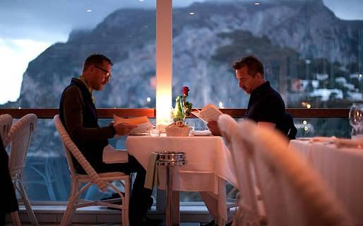Dove cenare davanti al panorama - Capri