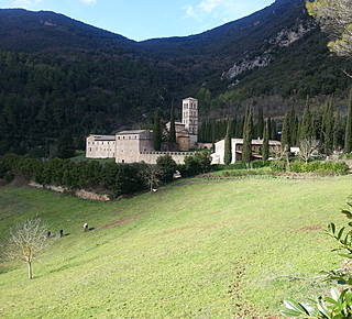 From the abbey to Umbriano Hotel