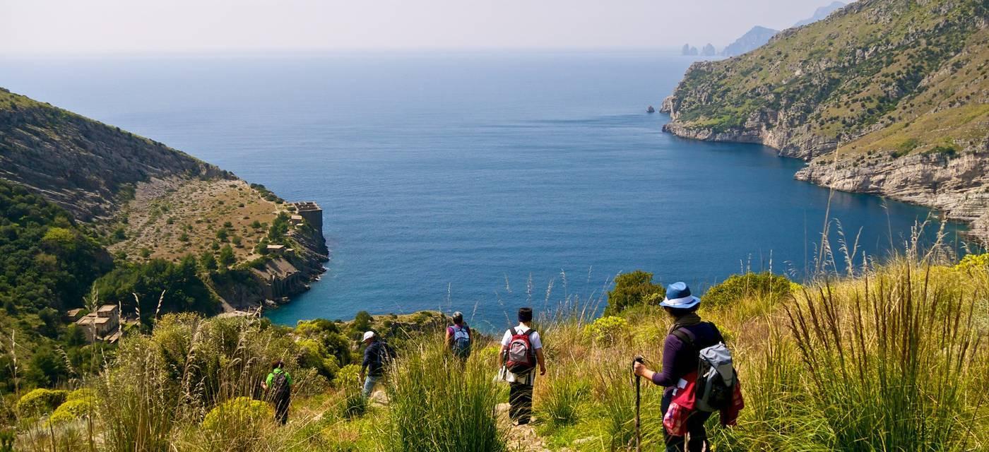 As trilhas da Costa Amalfitana - Trekking