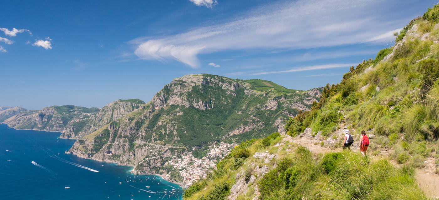 Footpaths on the Amalfi Coast - Trekking