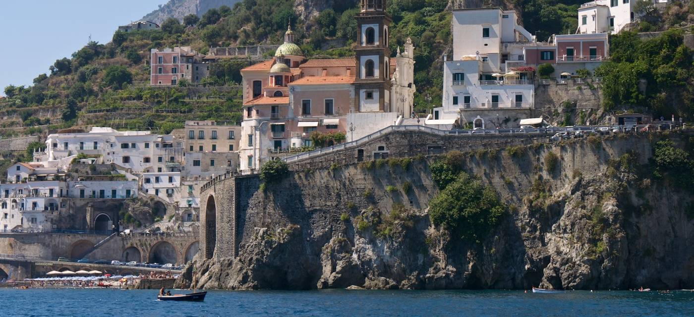 Excursions by sea on the Amalfi Coast