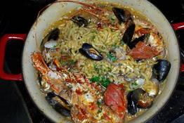 """La """"cocotte"""" di scialatielli al sapore di mare"""