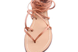 "Capri sandals""Gladiator"" model - ""Da Costanzo"""
