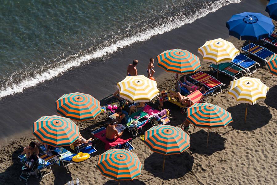 Le spiagge di Sorrento