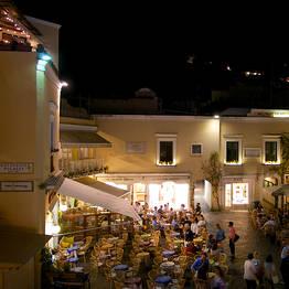Onde vão os VIPs em Capri?