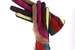 Multicolor Capri Gloves
