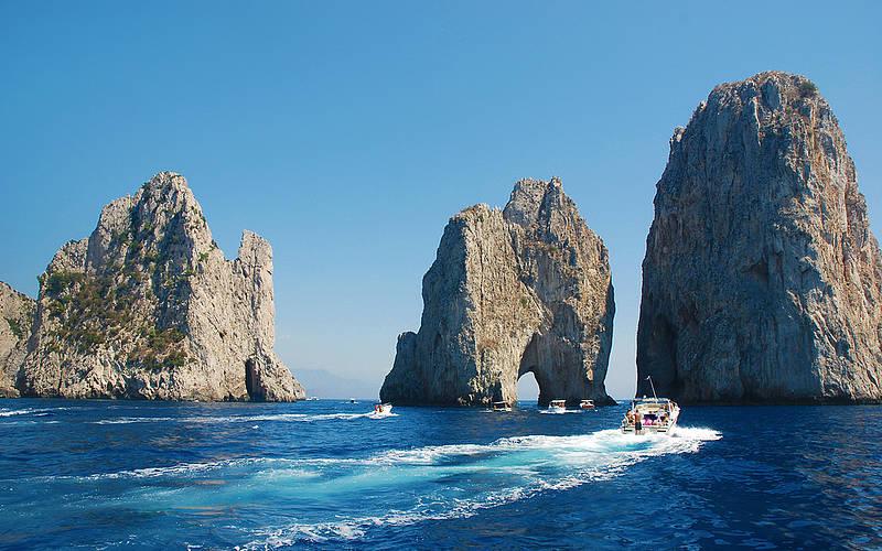 Alugar uma lancha em Capri