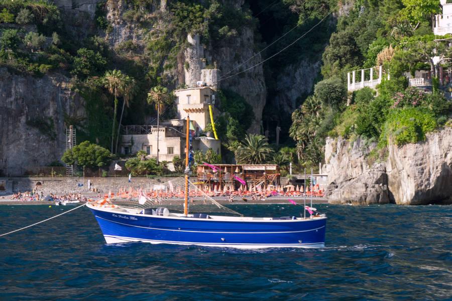 Tour via mare della Costiera Amalfitana