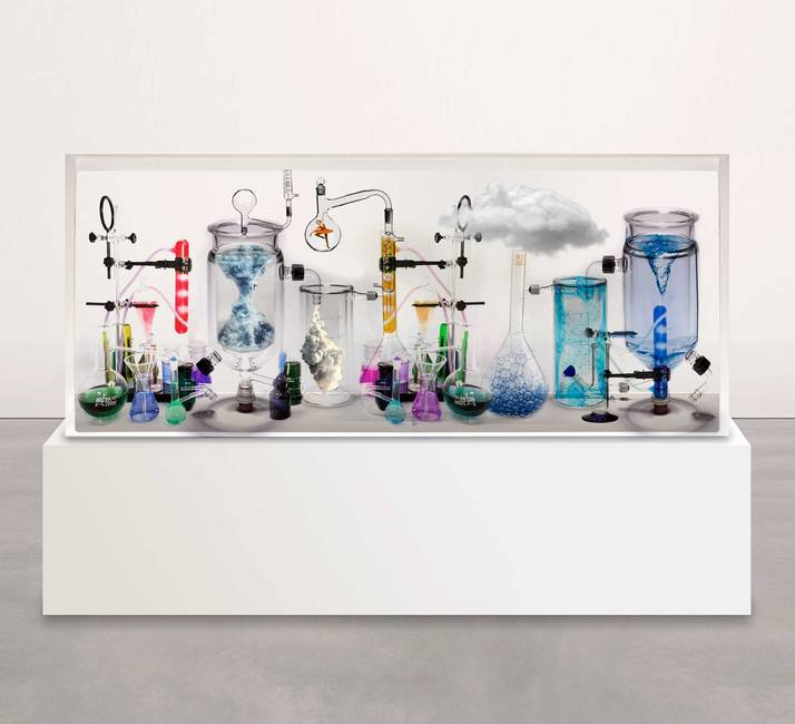 Liquid art system at CONTEXT NY 2016