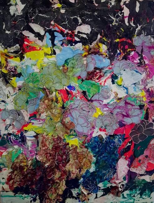 Multicolor Flower 015