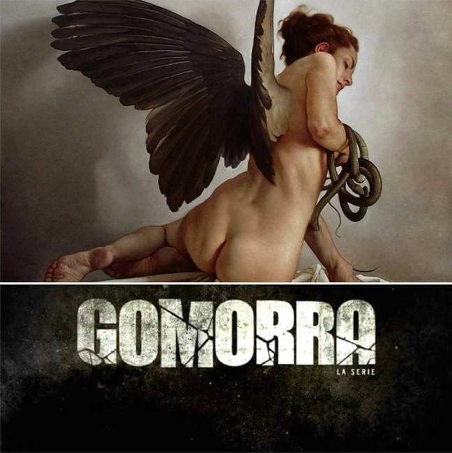 Roberto Ferri's paintings for the second season of Gomorrah (TV series)