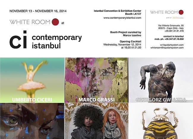 Liquid art system at Contemporary Istanbul 2014