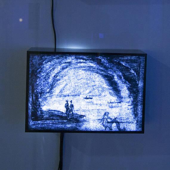 Blue Imaginary - Draw on Light, 2015