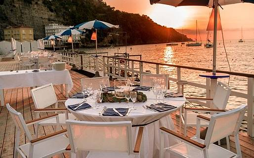 Romantic restaurants in sorrento sorrento - Bagni sant anna sorrento ...