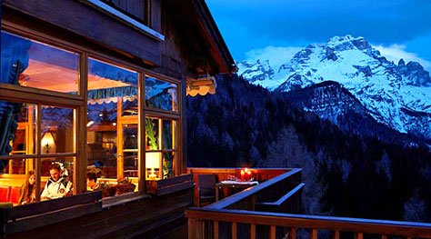 Eco-chic in the Dolomites