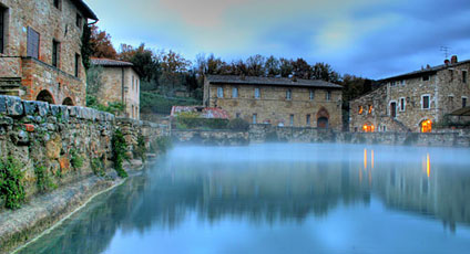 bagno vignoni hotels - boutique hotels and luxury resorts - Bagno Vignoni Map