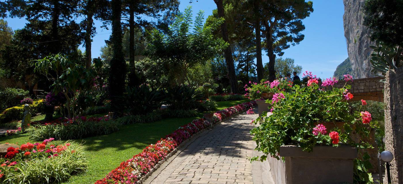 Jardins de Augusto e Via Krupp