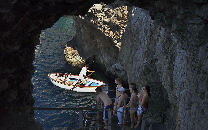 Capri, Italy - Grotta Azzurra