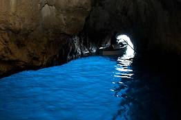 Grotta Azzurra - The Blue Grotto Capri