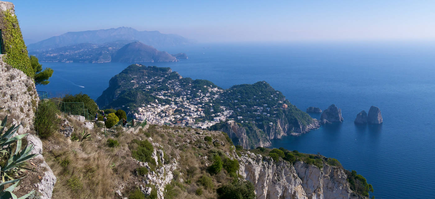 Landscape view of Capri