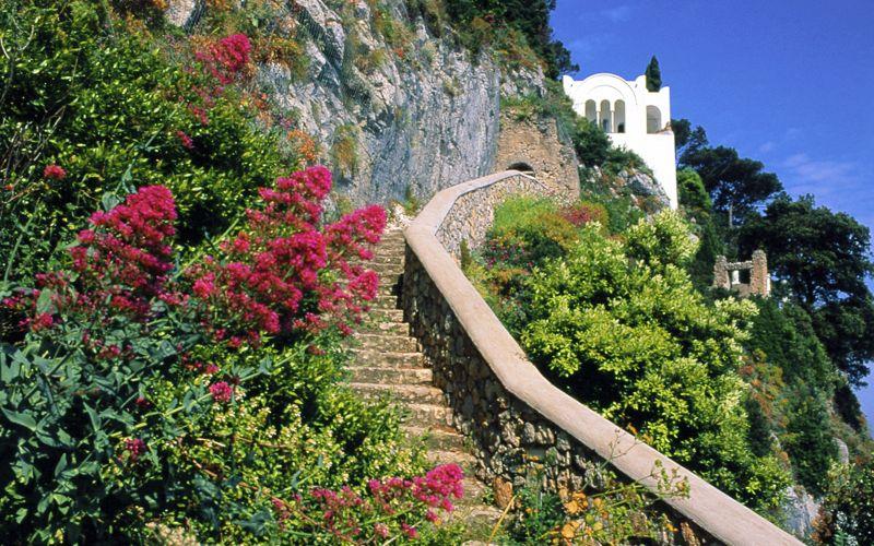 Capri italy villa san michele info photos for Capri luxury villas
