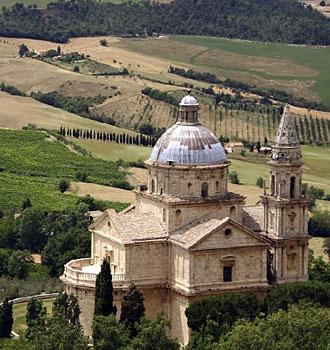 Locanda dell'Amorosa - Itinerário: L'Amorosa - Montepulciano - Pienza