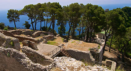 The Villas of Tiberius