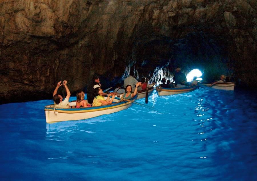 insel capri blaue grotte