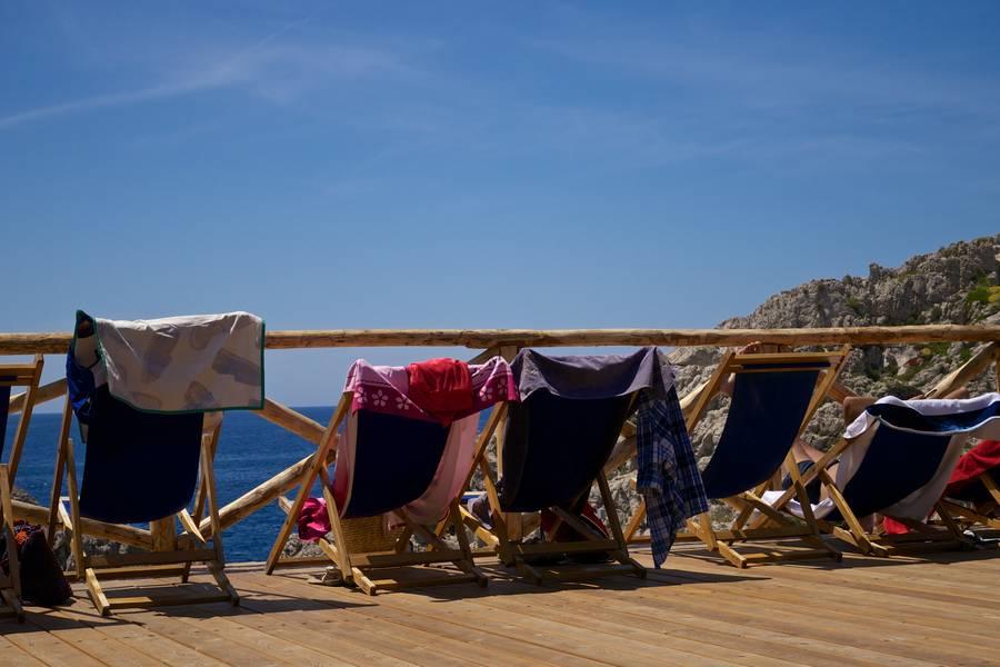 A Day at the Beach near Anacapri