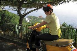 The Island of Capri on Scooter