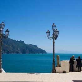 Nos arredores de Capri