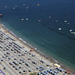 As praias de Vietri sul Mare