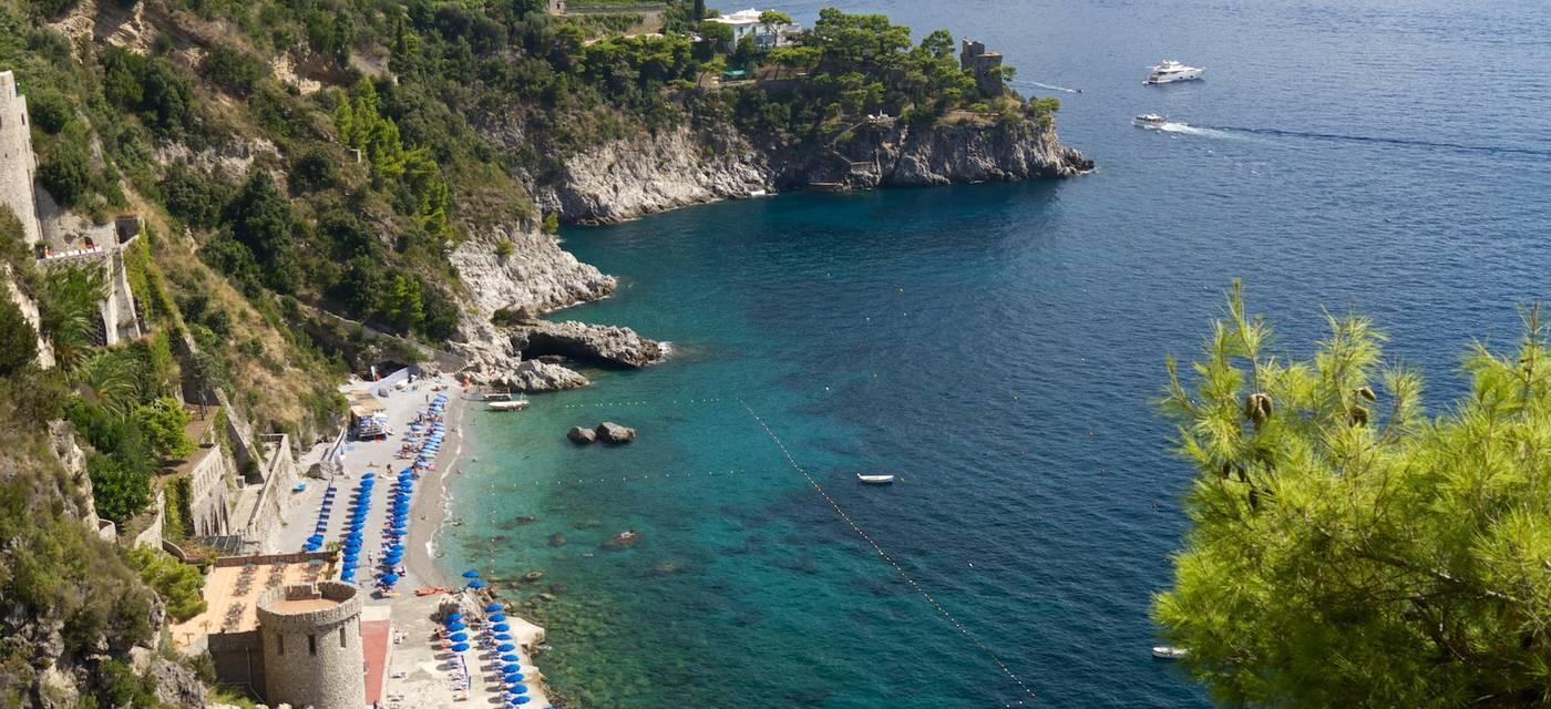 As praias de Amalfi