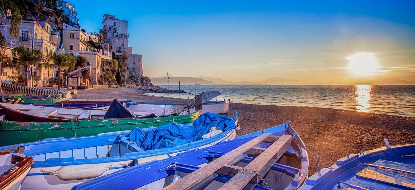 Cetara and Vietri sul Mare