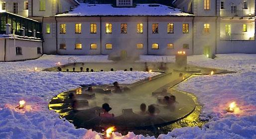 Snow spa