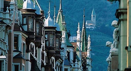 Bolzano, bellezza del nord