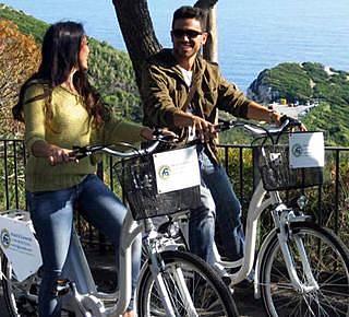 Andar de bicicleta em Capri Hotel