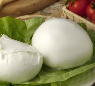 Freshly produced buffalo mozzarella Hotel