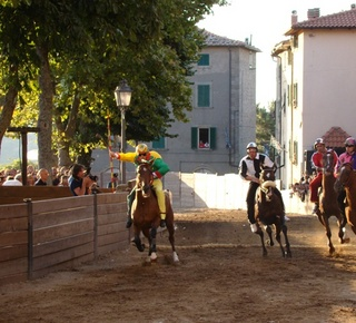 Palio of the Contrade di Castel del Piano Hotel