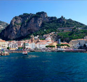 Basking on the Amalfi Coast