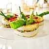 Totani ammollicati alla brace, friggitelli (Grilled breaded calamari, friggitelli green peppers)
