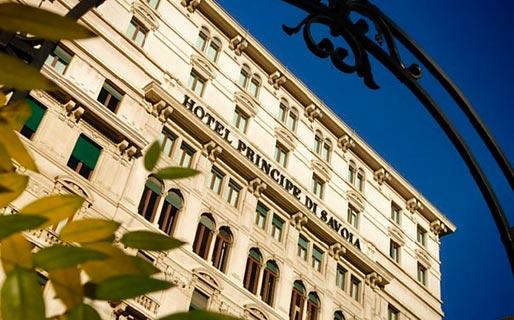 Principe Di Savoia 5 Star Luxury Hotels Milano