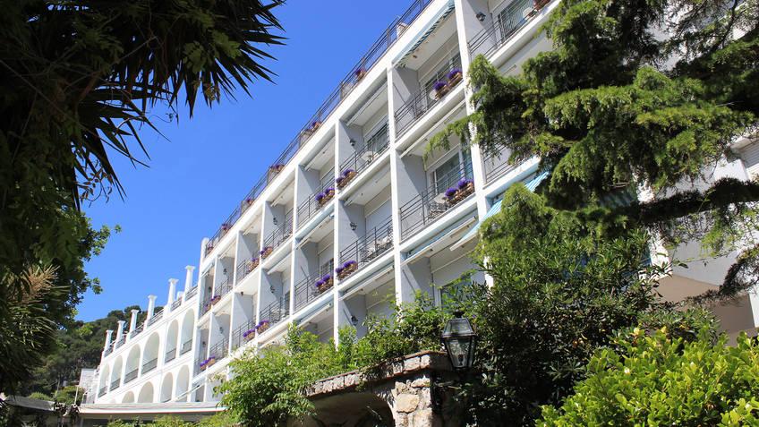 Hotel Regina Cristina Hotel 4 estrelas Capri