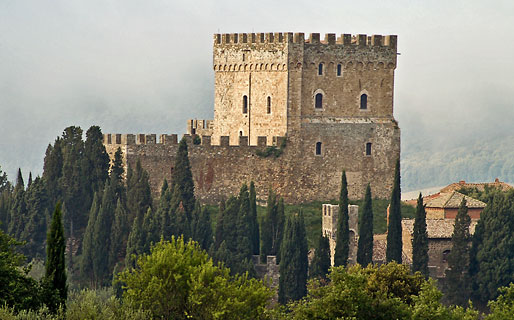 Castello di Ripa D'Orcia Residenze d'Epoca Castiglione d'Orcia