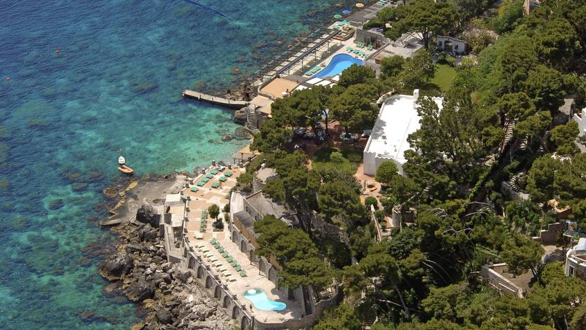 La Canzone del Mare Bathing Establishments Capri