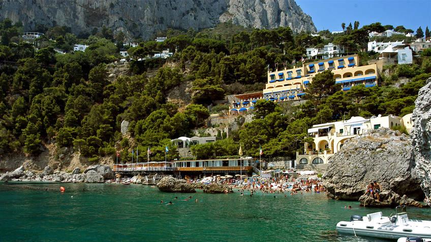 Hotel Ambassador Weber Hotel 4 estrelas Capri
